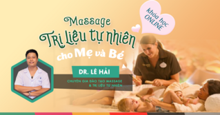 Massage cho be