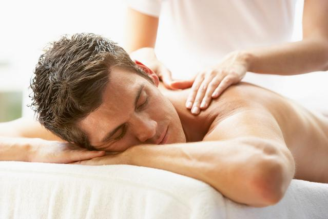 Massage therapy men