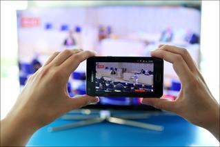 TV and smartphones