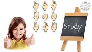 Cộng trừ nhẩm với 10 ngón tay xinh - Finger math