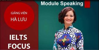 IELTS Academic- Module Speaking