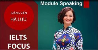IELTS Academic- Module Speaking