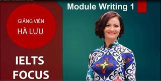 IELTS Academic- Module Writing 1