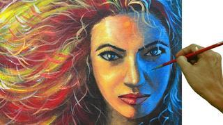 Học vẽ chân dung từ A đến Z