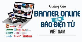 Quảng cáo banner online trên các trang báo điện tử Việt Nam