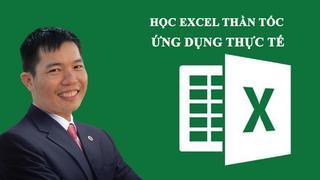 Excel ứng dụng thực tế trong doanh nghiệp - từ cơ bản đến nâng cao