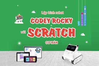 Khóa học lập trình điều khiển robot Codey Rocky