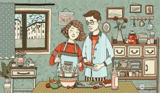 Bí quyết xây dựng mái ấm gia đình cho người vợ trẻ
