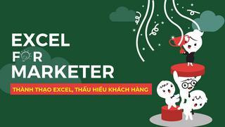Excel marketing - 65 thủ thuật excel cho người làm marketing