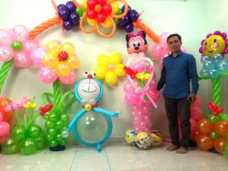 Tuyệt chiêu tạo hình và trang trí bong bóng nghệ thuật