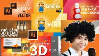 10 bài kỹ năng cần biết trong Adobe Illustrator