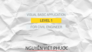 VBA for Civil Engineer Level 1