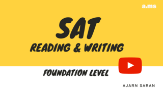 เตรียมตัวสอบ SAT Mathematics ขั้นพื้นฐาน
