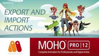 ทําแอนิเมชันและสติกเกอร์ด้วยโปรแกรม Moho Pro12