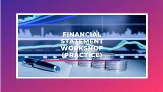 เทคนิคการอ่านงบการเงินง่ายๆ ทําได้ด้วยตัวเอง (Workshop อ่านงบการเงิน)
