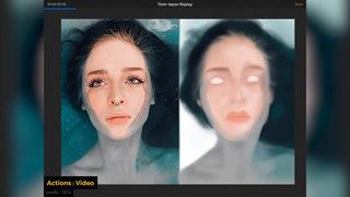 เทคนิคการวาดภาพ Portrait ด้วย Ipad