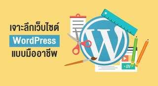 เจาะลึกเว็บไซต์ WordPress แบบมืออาชีพ